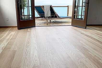 Malibu Oak floors finished with Loba Invisible