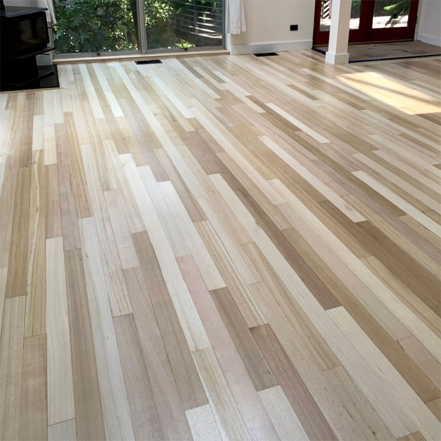 Sapele kitchen floor Laurel Canyon, CA