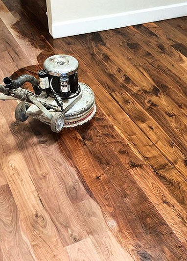 buffing on stain in Los Angeles
