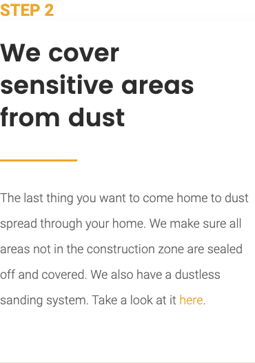 Protect from Dust